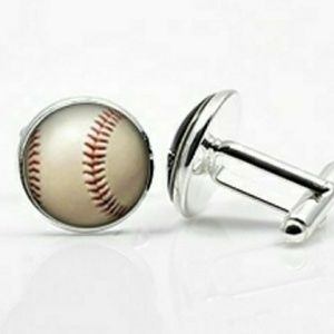 New Baseball Cuff Links
